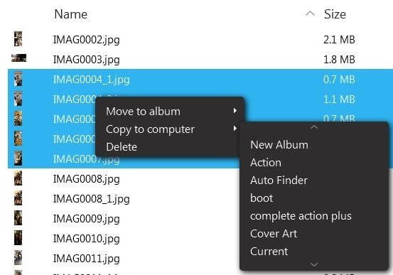 Import HTC Pictures to PC