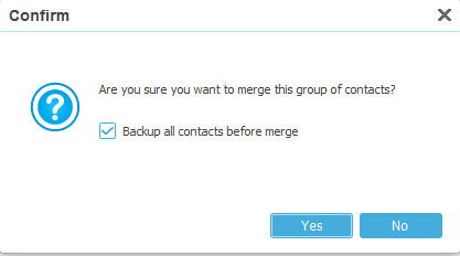 Merge Android Duplicate Contacts