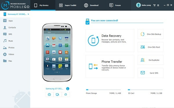 Android to PC Data Manager