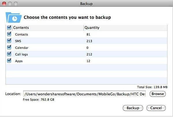 Backup Android Files to Mac