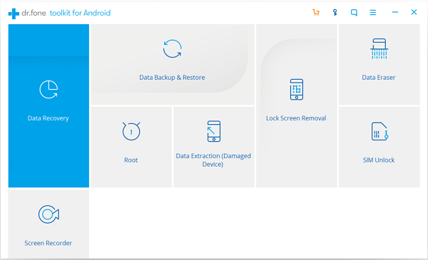 Navigate to Android Data Backup &Restore