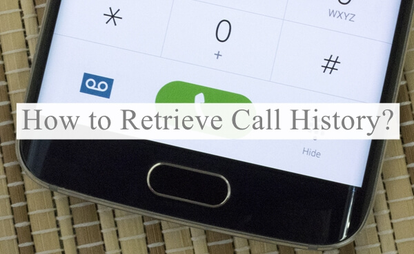 Recover Samsung Call Log