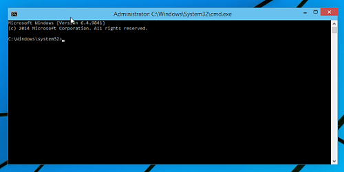 Command Prompt Window