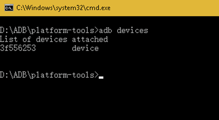 ADB Devices Command
