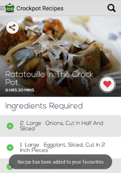 Crock-Pot ™ Recipes