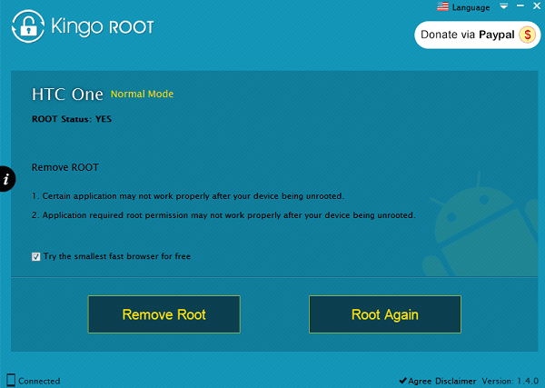 Kingo Root Root Successfully
