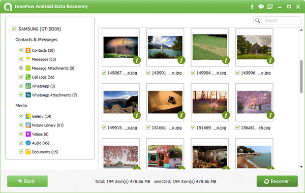 Samsung Photo Recovery with Ease