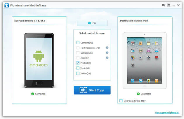 Remove Contacts from Android to iPhone