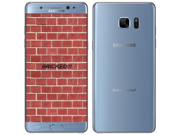 Bricked Note 7