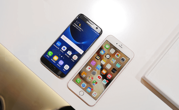 iPhone 6s Plus vs. Samsung Galaxy S7 Edge: Display