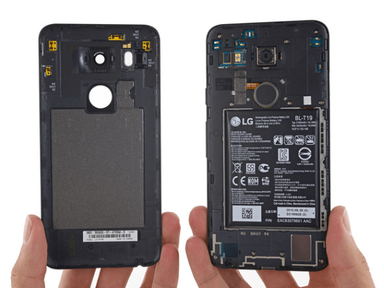 Battery and Specs of Nexus 5X and Nexus 6P