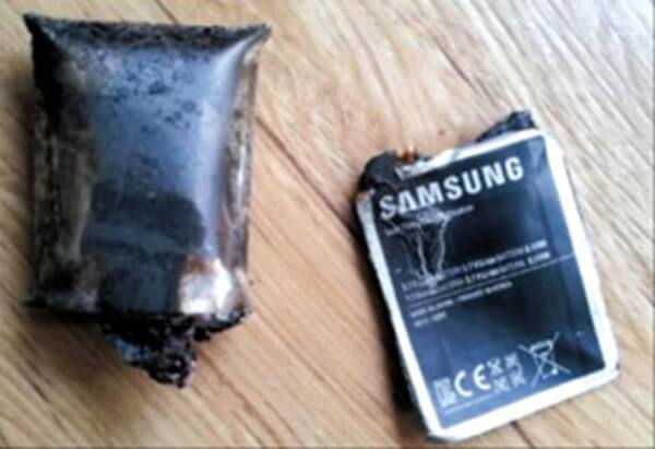 Note 7 Battery Exploding