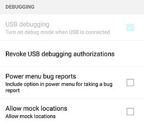 USB Debugging Greyed out