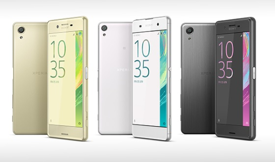 Sony Xperia X Series Phone Features