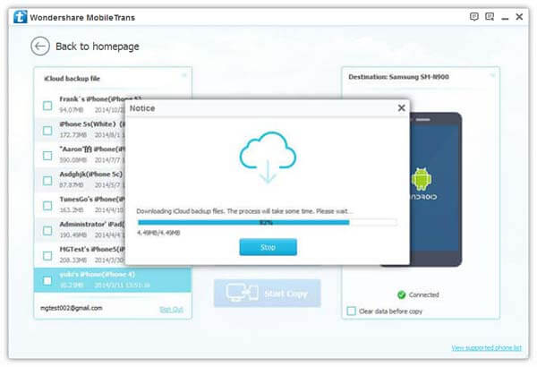 Download iCloud Contacts