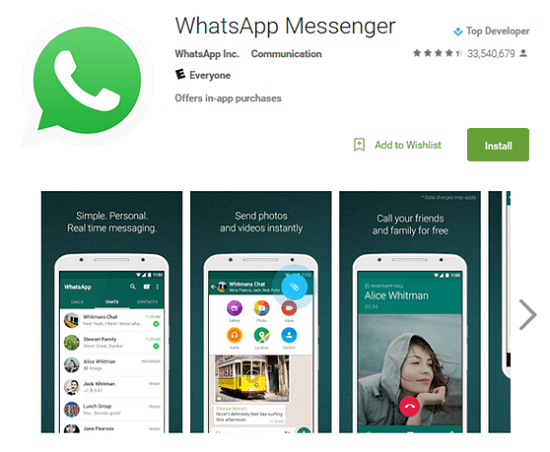 Get WhatsApp on Android