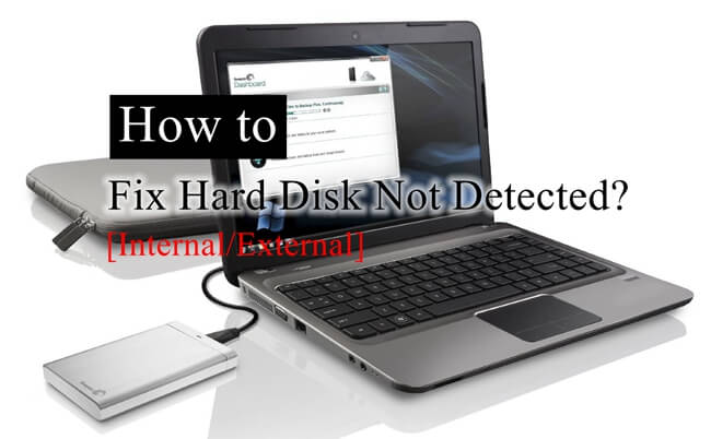 Fix Hard Drive Not Detected